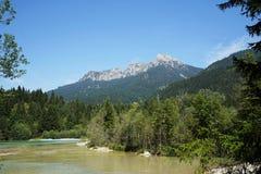 Alpi di Lechtal Fotografia Stock Libera da Diritti