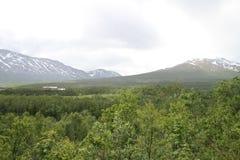Alpi di Lyngen, Norvegia Immagine Stock Libera da Diritti