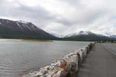 Alpi di Lyngen, Norvegia Fotografia Stock