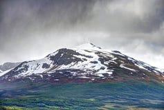 Alpi di Lyngen, Norvegia Immagini Stock