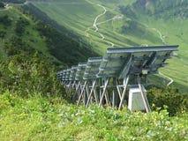 Alpi di Malbun Fotografie Stock