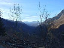 Alpi di Mera Fotografie Stock