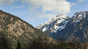 Alpi di Oberstdorf Immagine Stock