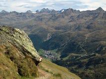 Alpi di Oetztal Fotografia Stock