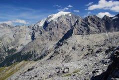 Alpi di Ortler Immagine Stock