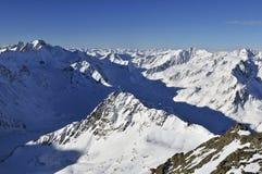 Alpi di Otztal Fotografia Stock Libera da Diritti