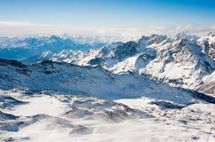 Alpi di Peninne Fotografie Stock Libere da Diritti