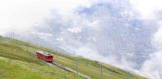 Alpi di Railwayin del dente, svizzero Immagine Stock Libera da Diritti