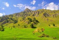 Alpi di Samnaun Fotografie Stock Libere da Diritti