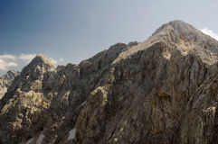 Alpi di Savinja - di Kamnik, Slovenia Fotografia Stock Libera da Diritti