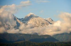 Alpi di Savinja - di Kamnik, Slovenia Fotografie Stock Libere da Diritti