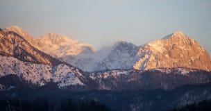 Alpi di Savinja - di Kamnik, Slovenia Fotografia Stock