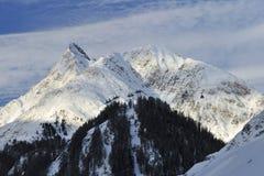 Alpi di Silvretta Fotografia Stock