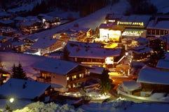 Alpi di Soelden Fotografie Stock Libere da Diritti