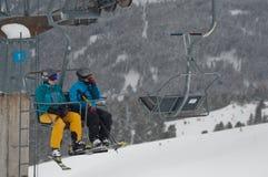 Alpi di Soelden Immagini Stock