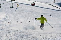 Alpi di Soelden Fotografie Stock