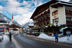 Alpi di Soelden Fotografia Stock