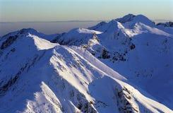 Alpi di Transylvanian Fotografia Stock Libera da Diritti