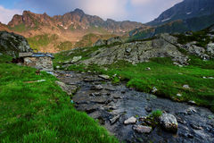 Alpi di Transylvanian Fotografia Stock