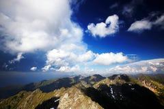 Alpi di Transylvanian, Romania Immagine Stock Libera da Diritti