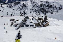 Alpi di Tuxer in Austria, 2015 Fotografie Stock