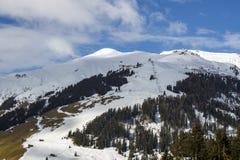 Alpi di Tuxer in Austria, 2015 Fotografie Stock Libere da Diritti