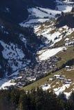 Alpi di Tuxer in Austria, 2015 Immagini Stock