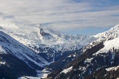 Alpi di Tuxer in Austria, 2015 Fotografia Stock Libera da Diritti