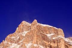 Alpi - dolomia - l'Italia Fotografie Stock Libere da Diritti