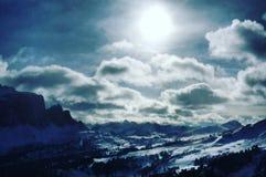 Alpi Dolomiti, Italia Fotografia Stock