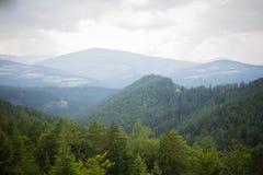 Alpi dopo pioggia Fotografia Stock Libera da Diritti
