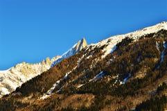 Alpi e colline svizzere Immagini Stock