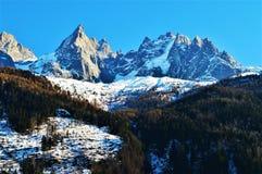 Alpi e la Svizzera svizzere Fotografia Stock