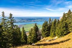 Alpi e laghi in Germania Immagine Stock