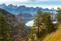 Alpi e laghi in Germania Fotografia Stock