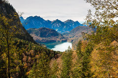 Alpi e laghi in Germania Fotografie Stock