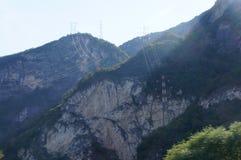Alpi in Europa vicino all'Italia Immagine Stock Libera da Diritti