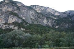 Alpi in Europa vicino all'Italia Immagini Stock Libere da Diritti