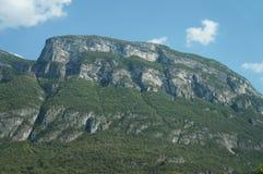 Alpi in Europa vicino all'Italia Fotografia Stock