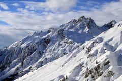 Alpi europee Immagini Stock