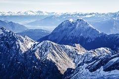 Alpi europee Fotografie Stock Libere da Diritti