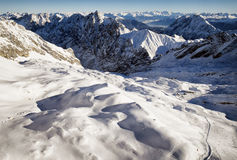 Alpi europee Fotografia Stock Libera da Diritti