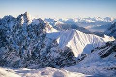 Alpi europee Immagini Stock Libere da Diritti