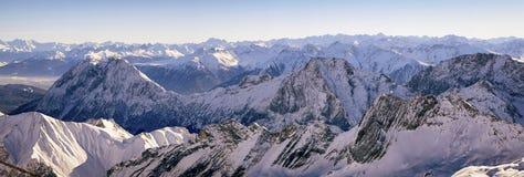Alpi europee Fotografie Stock