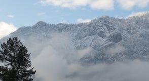 Alpi europee Immagine Stock Libera da Diritti
