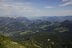Alpi europee - Berchtesgaden Fotografia Stock Libera da Diritti