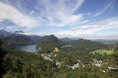 Alpi europee - Berchtesgaden Immagine Stock Libera da Diritti