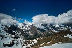 Alpi europee panoramiche Fotografia Stock Libera da Diritti