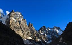 Alpi francesi Immagini Stock