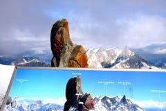 Alpi francesi Immagini Stock Libere da Diritti